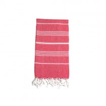 cherry turkish towel