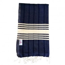 navy turkish towel