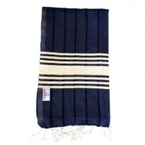 navy turkish towel