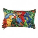 TWIN MACAW CUSHION
