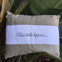 une belle histoire cushion