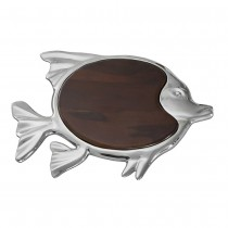 nickel and wood fish