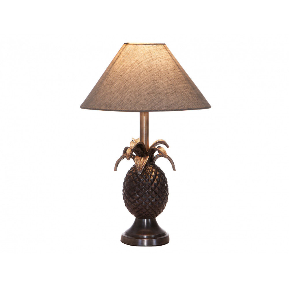 antique silver pineapple lamp - Pineapple Lamp