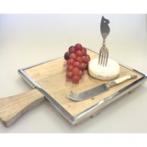 square cheese board